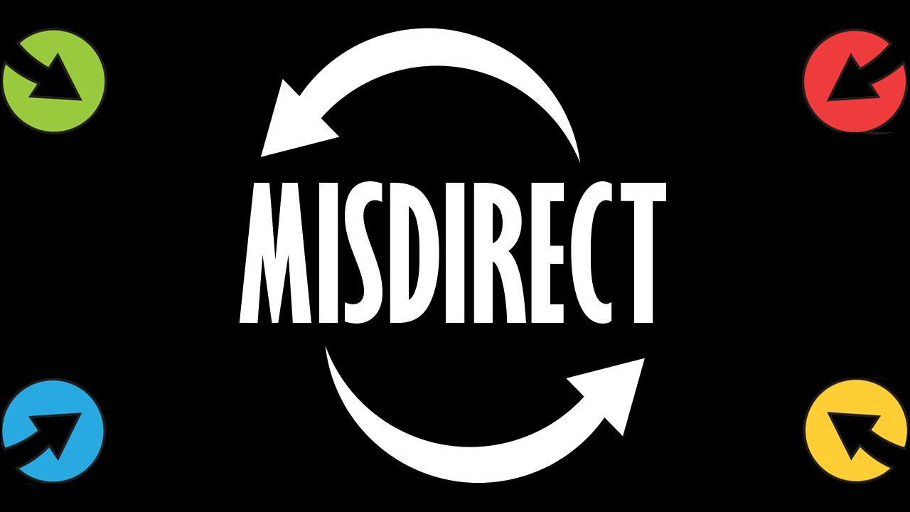 MiSDIRECT splash page